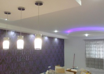 Gypsum Partition,Ceiling and Painting Works