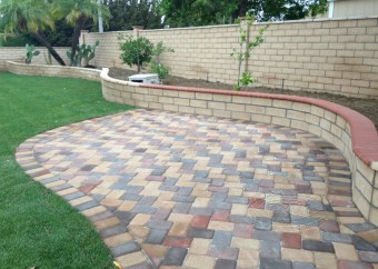 Interlock, landscaping & Irrigation Works
